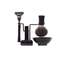 RBSB-BK- Axwell 4 pcs Shaving in Black